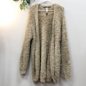 Kenzie Teddy Bear Cardigan Large